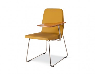 COOL VISITOR CHAIR WITH WRITING PAD-COL-01