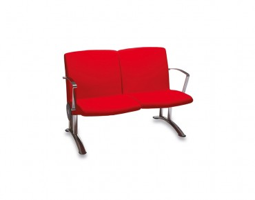 GISA DOUBLE SEAT WAITING CHAIR-GI 3215 K