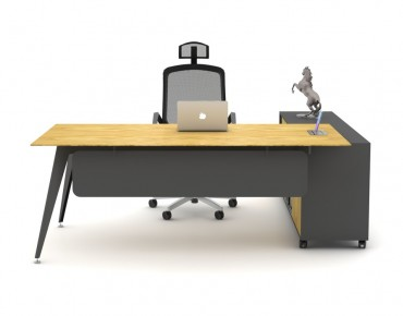 TARSUS EXECUTIVE DESK (WITH DRAWER UNIT)