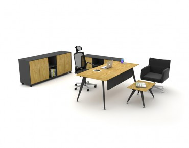 TARSUS EXECUTIVE DESK(WITHOUT DRAWER UNIT)